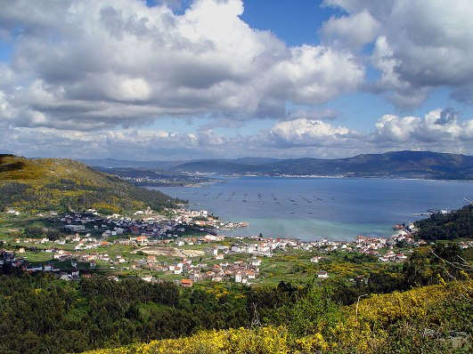 Las Rias Baixas en Galicia