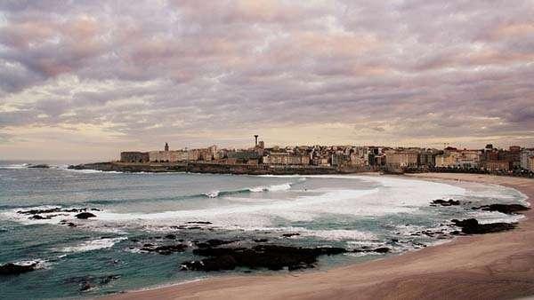 A Coruña desde Riazor
