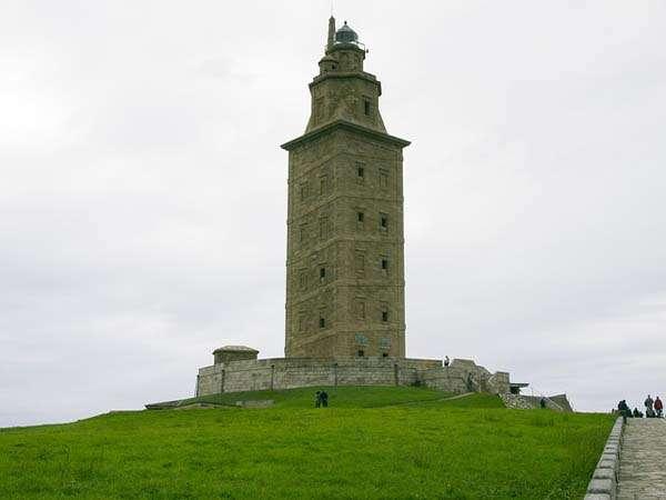La Torre de Hércules en A Coruña