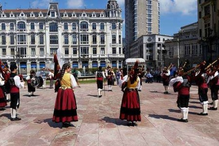 ¿Cómo es el traje típico de Asturias?
