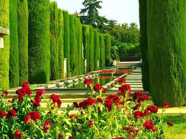 Jardines del Alcazar de Cordoba