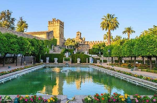 Alcazar de los Reyes Católicos en Córdoba