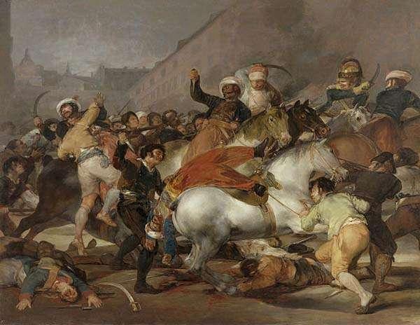 La carga de los Mamelucos de Goya