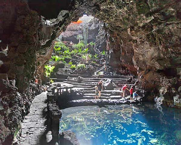 Los Jameos del Agua en Lanzarote