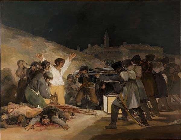 Los fusilamientos del 3 de Mayo en Madrid