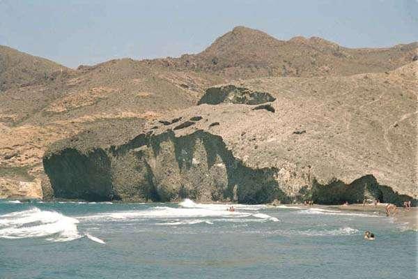 Playa del Mónsul en Cabo de Gata