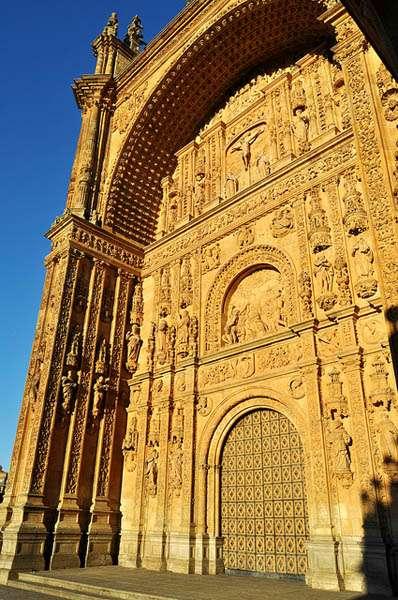 Fachada del Convento de San Esteban - Salamanca