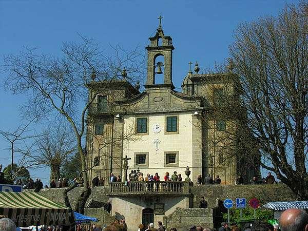 Iglesia Nuestra Señora de O Corpiño en Lalín