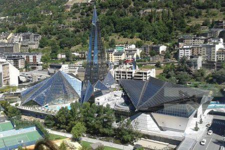 Caldea, el centro termolúdico de spa de Andorra