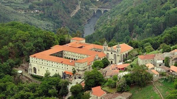 Monasterios en la Ribeira Sacra
