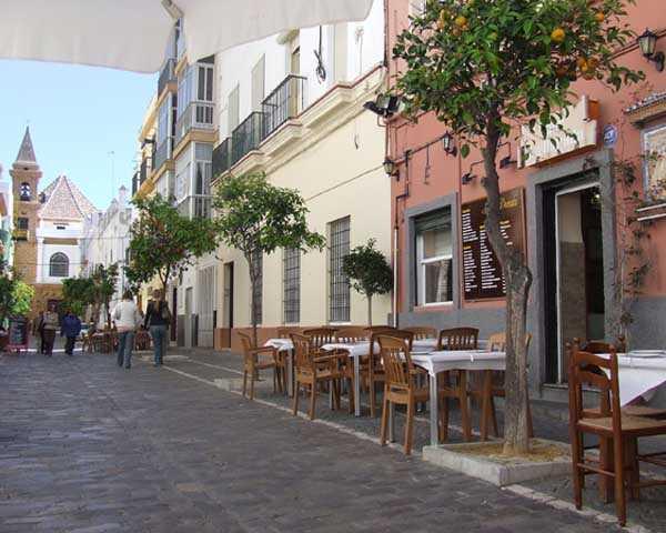 Calle de la Palma en barrio de la Viña