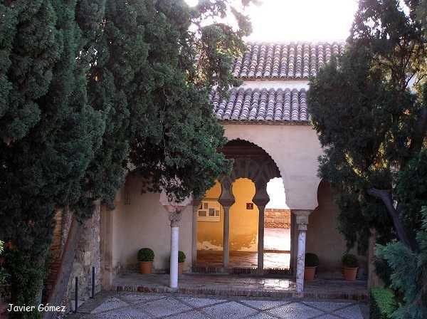 Palacio Nazarí en la Alcazaba malagueña