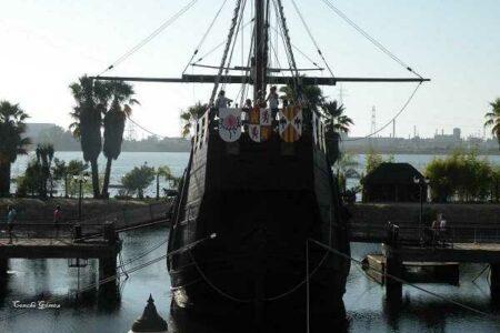 El Muelle de las Carabelas, en Huelva