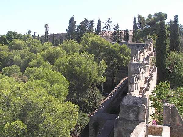 Castillo de Gibralfaro - murallas