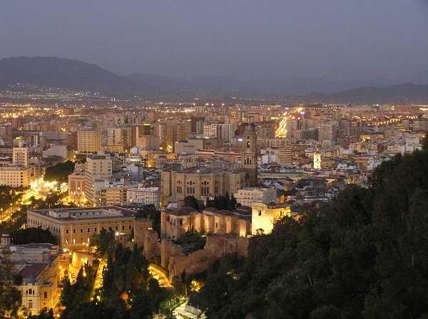 Castillo de Gibralfaro - vistas de Málaga