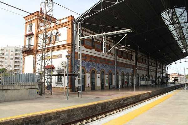 Estación de tren de Jerez