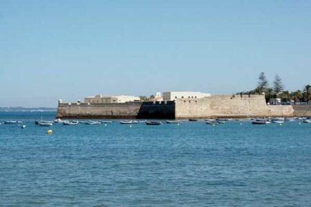 El castillo de Santa Catalina, en Cádiz