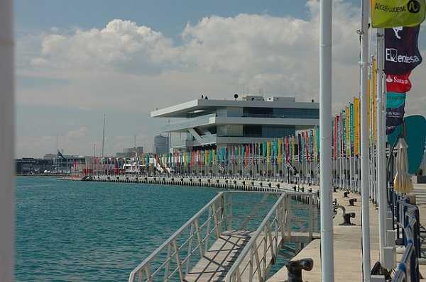 Port America's Cup en Valencia