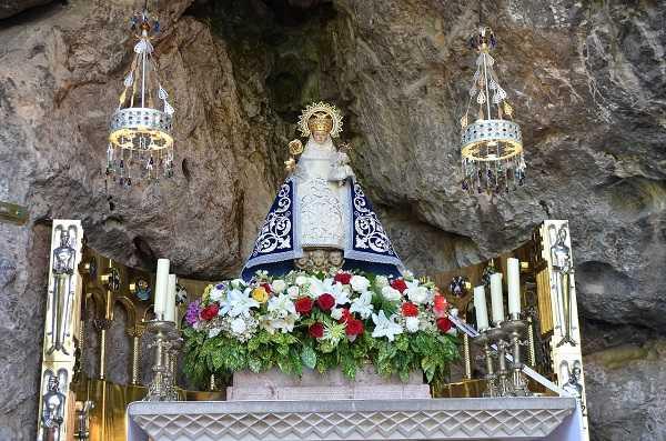 Virgen de Covadonga - Santuario