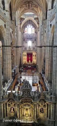 Catedral de Salamanca - interior