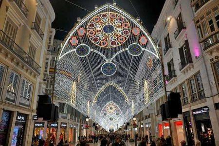 Calle Larios, arteria principal de Málaga